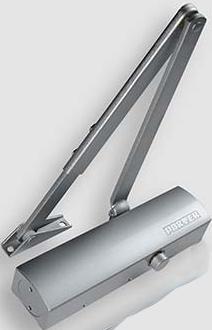 Закрыватель дверной гидравлический рычажный в алюминиевом корпусе